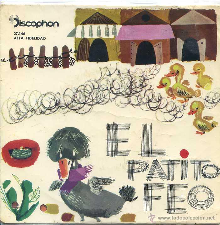 EL PATITO FEO (DISCOPHON 1962) (Música - Discos de Vinilo - EPs - Música Infantil)
