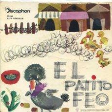 Discos de vinilo: EL PATITO FEO (DISCOPHON 1962). Lote 53221829