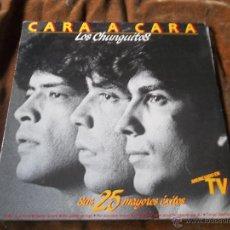 Discos de vinilo: LOS CHUNGUITOS CARA A CARA SUS 25 MAYORES ÉXITOS DOBLE LP ED. EMI ODEON, 1984.. Lote 53221903
