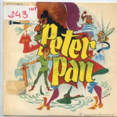 Discos de vinilo: PETER PAN (TEATRO INVISIBLE DE RADIO NACIONAL DE BARCELONA 1966 - VINILO ROJO). Lote 53221931