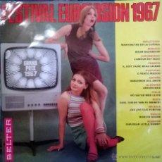 Discos de vinilo: VVAA. FESTIVAL EUROVISIÓN 1967.BELTER, ESP. 1967 LP. Lote 53222860