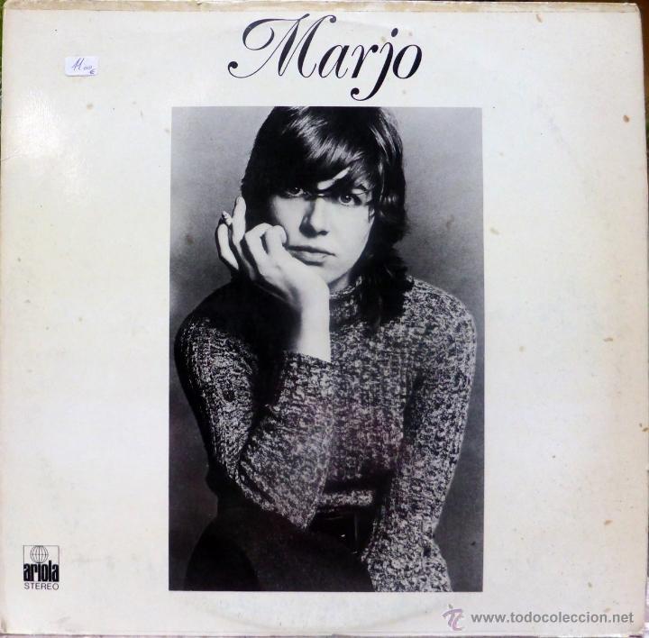 MARJO. MARJO. ARIOLA-EURODISC, ESP. 1976 LP (CONTIENE ENCARTE) (Música - Discos - LP Vinilo - Cantautores Españoles)