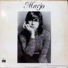 Disques de vinyle: MARJO. MARJO. ARIOLA-EURODISC, ESP. 1976 LP (CONTIENE ENCARTE). Lote 53224154