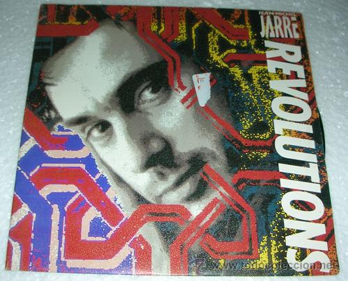 JEAN MICHEL JARRE - REVOLUTIONS - SINGLE 1988 (Música - Discos - Singles Vinilo - Techno, Trance y House)