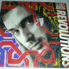 Discos de vinilo: JEAN MICHEL JARRE - REVOLUTIONS - SINGLE 1988. Lote 53225216