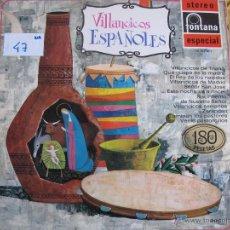 Discos de vinilo: LP - NAVIDAD - VILLANCICOS ESPAÑOLES - VARIOS (SPAIN, DISCOS FONTANA 1969). Lote 53225989