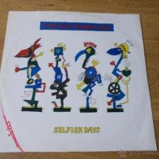 Discos de vinilo: FIVE GUYS NAMED MOE. SELFISH DAYS MAXI 12. Lote 53226637