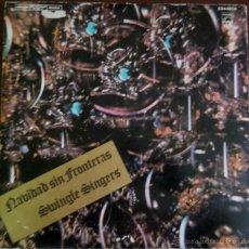 Discos de vinilo: LP ARGENTINO DE SWINGLE SINGERS AÑO 1968. Lote 53229293