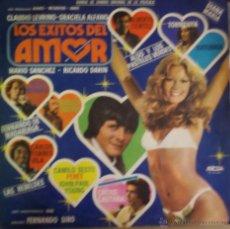 Discos de vinilo: LP ARGENTINO BSO LOS ÉXITOS DEL AMOR AÑO 1979. Lote 53229306