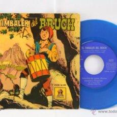 Discos de vinilo: DISCO EP VINILO AZUL - CUENTO EL TIMBALER DEL BRUCH - CÓMIC - ODEON, AÑO 1959. Lote 53231387