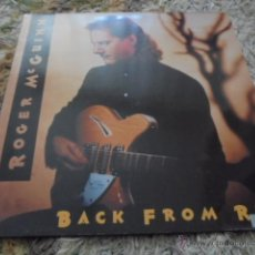 Discos de vinilo: ROGER MCGUINN --- BACK FROM RIO // COMO NUEVO. Lote 53231391