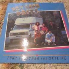 Discos de vinilo: TONY TRISCHKA & SKYLINE --- SKY-LINE DRIVE // COMO NUEVO. Lote 53231658