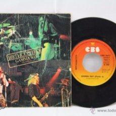 Discos de vinilo: DISCO SINGLE VINILO - BIRTHCONTROL. GAMMA RAY. PARTES 1 Y 2 - CBS, AÑO 1975. Lote 53231692