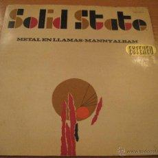 Discos de vinilo: METAL EN LLAMAS - MANNY ALBAM, LP, MAGIA NEGRA + 11, AÑO 1967. Lote 53232243