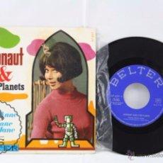Discos de vinilo: DISCO SINGLE VINILO - ASTRONAUT ALAN & THE PLANETS. FICKLE LIZZIE ANNE... - BELTER, AÑO 1969. Lote 53232461