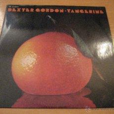 Discos de vinilo: DEXTER GORDON, LP, TANGERINE + 3, AÑO 1975. Lote 53232734