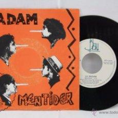 Discos de vinilo: DISCO SINGLE VINILO - LA MADAM. MENTIDER - BLAU, AÑO 1989. Lote 53233138