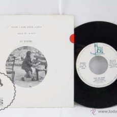 Discos de vinilo: DISCO SINGLE VINILO - ELS DETECTORS. QUAN L'ALBA QUEDA LLUNY / NOIA DE LA NIT - BLAU, AÑO 1989. Lote 53233184