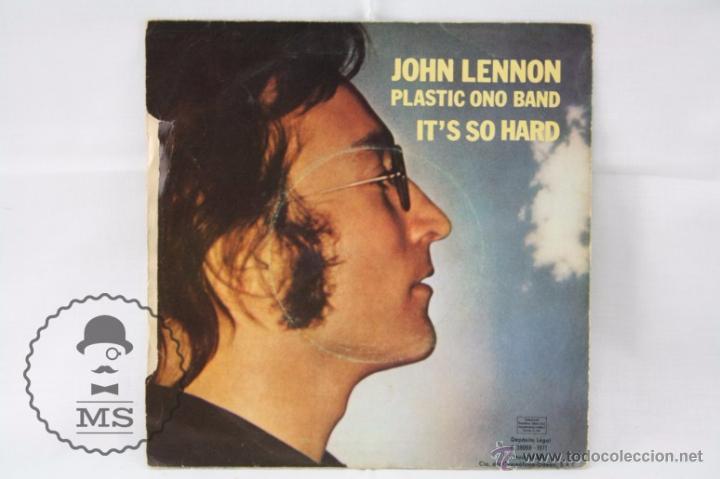 Discos de vinilo: Disco Single Vinilo - John Lennon. Plastic Ono Band. Imagine - Odeon, Año 1971 - Foto 3 - 53233247