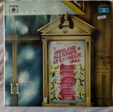 Discos de vinilo: BIRDLAND ALL STARS AT CARNEGIE HALL (MARFER) 2 X LP SARAH VAUGHAN CHARLIE PARKER BILLIE HOLIDAY. Lote 53236652