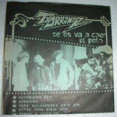 Discos de vinilo: TXORROMORRO - SE OS VA A CAER EL PELO - EP BASATI 1989. Lote 53237999