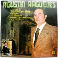 Discos de vinilo: AGUSTIN ARGUELLES - CANCION ASTURIANA (AGUSTÍN ARGÜELLES CUESTA) - LP MOVIEPLAY 1977 BPY. Lote 53238741