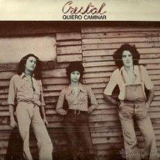 Discos de vinilo: CRISTAL LP SELLO RCA VICTOR AÑO 1976 EDITADO EN ESPAÑA PROMOCIONAL ETIQUETA BLANCA . Lote 53243616