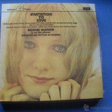 Discos de vinilo: RONNIE ALDRICH Y SUS DOS PIANOS. ORQUESTA DEL FESTIVAL DE LONDRES. INVITATION TO LOVE / LP DE 1973. Lote 53243987