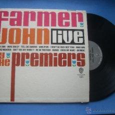 Discos de vinilo: THE PREMIERS FARMER JOHN LIVE LP USA 1964 PDELUXE. Lote 53245720