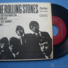 Discos de vinilo: THE ROLLING STONES POISON IVY / BYE BYE JOHNNY + 2 EP MEJICO 1971 PDELUXE. Lote 53249387