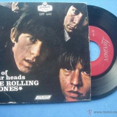 Discos de vinilo: THE ROLLING STONES SATISFACTION / THE LAST TIME + 2 EP MEJICO 1965 PDELUXE. Lote 53249661