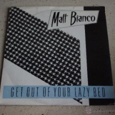 Discos de vinilo: MATT BIANCO ( GET OUT OF YOUR LAZY BED - BIG ROSIE ) 1983-GERMANY SINGLE45 WEA. Lote 53249688