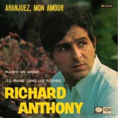 EP RICHARD ANTHONY - ARANJUEZ VINILO 45 RPM