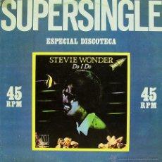Discos de vinilo: STEVIE WONDER-DO I DO + ROCKET LOVE MAXI SINGLE VINILO 1982 SPAIN. Lote 53253161