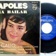 Discos de vinilo: TULLIO GALLO Y SU ORQUESTA - NAPOLES PARA BAILAR - EP PHILIPS 1962 BPY. Lote 53254088
