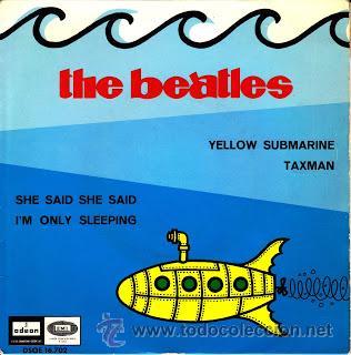 EP THE BEATLES - YELLOW SUBMARINE 1966 VINILO 45 RPM (Música - Discos - Singles Vinilo - Pop - Rock Extranjero de los 50 y 60)