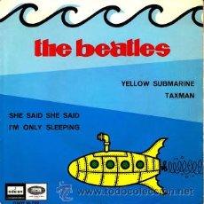 Discos de vinilo: EP THE BEATLES - YELLOW SUBMARINE 1966 VINILO 45 RPM. Lote 53254919