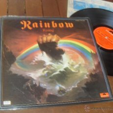 Discos de vinilo: RAINBOW LP. RISING. MADE IN SPAIN. 1984. Lote 53256583