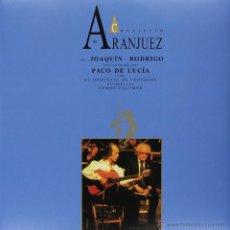 Discos de vinilo: LP PACO DE LUCIA CONCIERTO DE ARANJUEZ VINILO. Lote 104765446