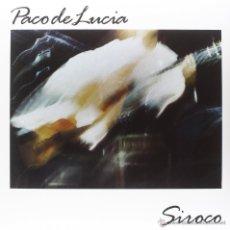 Discos de vinilo: LP PACO DE LUCIA SIROCO VINILO 180G FLAMENCO. Lote 53257267
