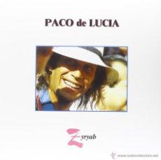 Discos de vinilo: LP PACO DE LUCIA ZYRYAB VINILO 180G FLAMENCO. Lote 58364496