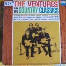 Discos de vinilo: LP - THE VENTURES - PLAY THE COUNTRY CLASSICS (USA, DOLTON RECORDS SIN FECHA). Lote 53257572