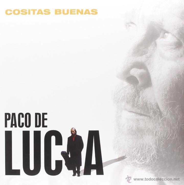 LP PACO DE LUCIA COSITAS BUENAS VINILO 180G FLAMENCO (Música - Discos - LP Vinilo - Flamenco, Canción española y Cuplé)