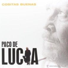 Discos de vinilo: LP PACO DE LUCIA COSITAS BUENAS VINILO 180G FLAMENCO. Lote 127828548