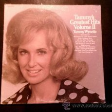 Discos de vinilo: TAMMY WYNETTE - GREATEST HITS 1972 !! GREAT ORG EDIT USA, TODO EXC. Lote 53259549