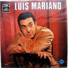 Discos de vinilo: LUIS MARIANO - LUIS MARIANO ACOMP. ORQUESTA - LP REGAL 1968 BPY. Lote 53259786