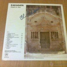 Discos de vinilo: EL CALDERO - ZARAGATA. CANTOS DE BODA (LP 1986, SAGA SED-5033) INCLUYE FOLLETO. Lote 53259924