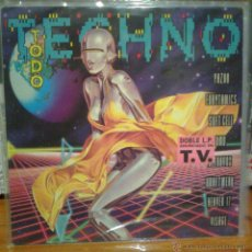 Discos de vinilo: TODO TECHNO - DOBLE LP 1992 -KRAFTWERK-ULTRAVOX-SOFT CELL-YAZOO-VISAGE-OMD-ERASURE-CULTURE CLUB.... Lote 53262803