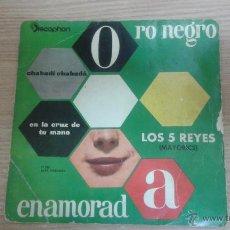 Discos de vinilo - LOS 5 REYES - ENAMORADA - EN LA CRUZ DE TU MANO + 2 - EP SPAIN 1961 - EX / EX - 53271564