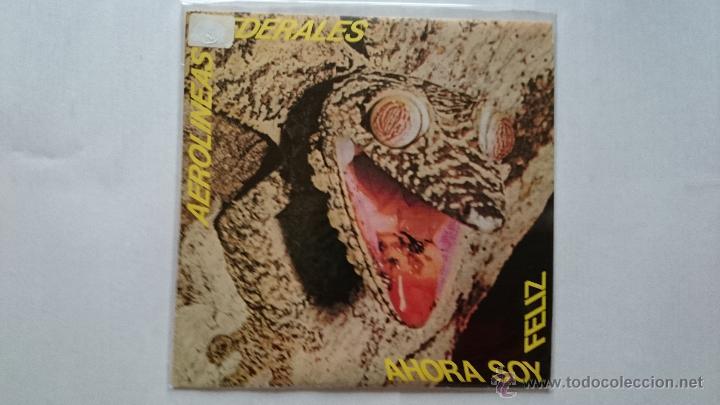 AEROLINEAS FEDERALES - AHORA SOY FELIZ / VACACIONES / SOY FEA (EP PROMO 1986) (Música - Discos de Vinilo - EPs - Grupos Españoles de los 70 y 80)